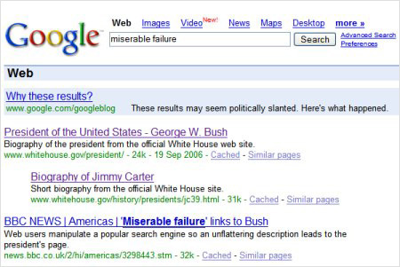 Google Bomb - dautuseo.com