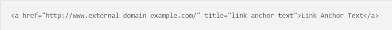 mẫu code external link