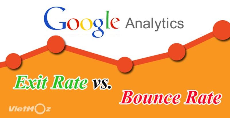 Phân biệt Exit Rate và Bounce Rate