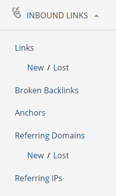 inbound links ahrefs
