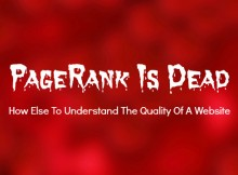 PageRank-Is-Dead