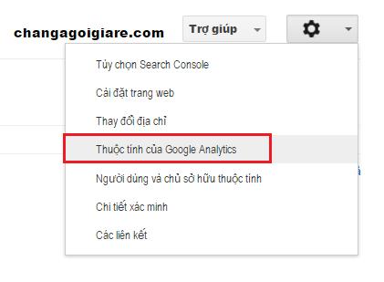 Hướng dẫn liên kết Google Webmaster Tools và Google Analytics