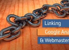 liên kết webmaster tools và google analytics