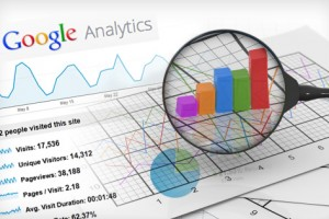 các chỉ số google analytics